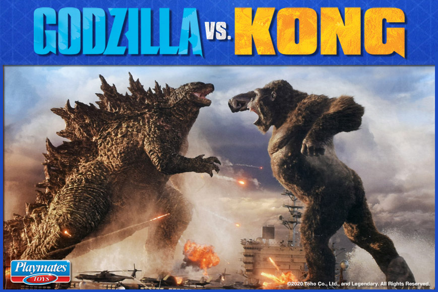 Godzilla Vs Kong Playmates Toys Inc