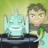 Ben 10 Transforming Ben-to-Diamondhead