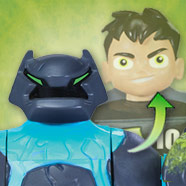 Ben 10 Transforming Ben-to-Shock Rock