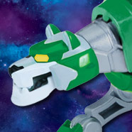 Voltron Metal Defender Green Lion