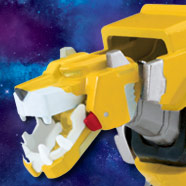 Voltron Metal Defender Yellow Lion