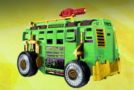 TMNT Shellraiser Street to Sewer Assault Vehicle