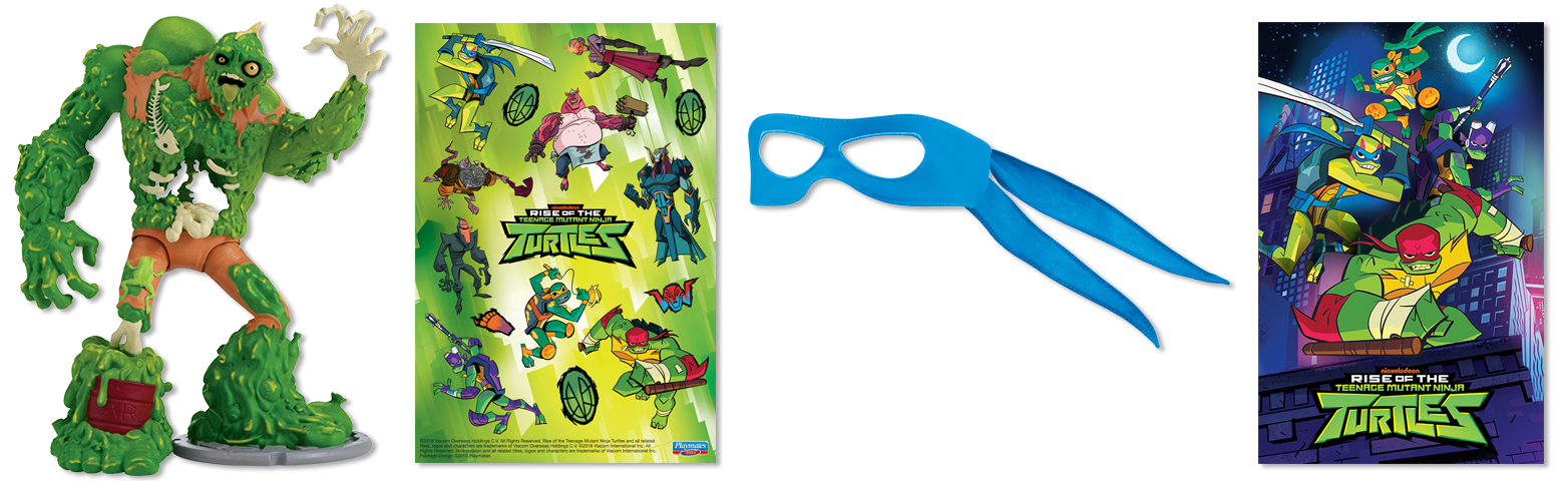 Sewer Squad Pizza Points Playmates Toys, Inc